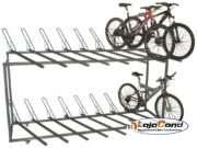 Bicicletario de 2 andares com 16 vagas-