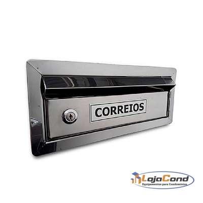 CAIXA-DE-CORREIO-INOX-PARA-CHUMBAR-NO-MURO-COM-ACESSO-FRONTAL