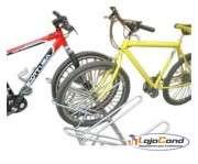 Bicicletário de chão 9 vagas