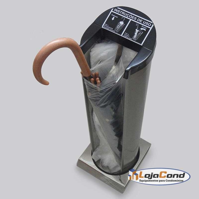 Embalador de guarda chuvas clean inox