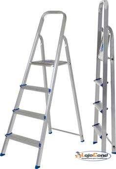 Escada de alumínio 4 degraus
