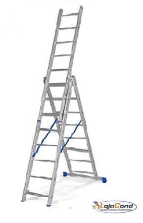 Escada Extensiva Tripla