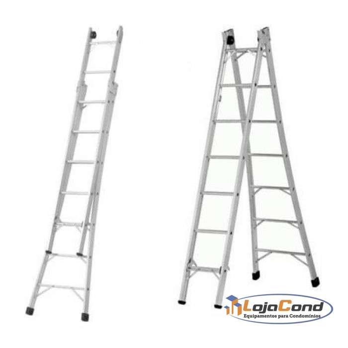 Escada Extensível alumínio
