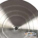 Espelho convexo panorâmico - acabamento alumínio (detalhe traseira)