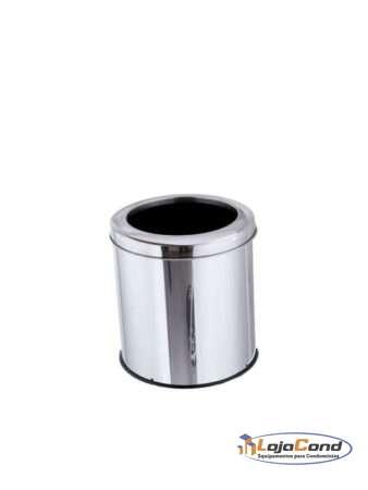 lixeira-coleta-seletiva-inox-aro-inox-30-30-20L