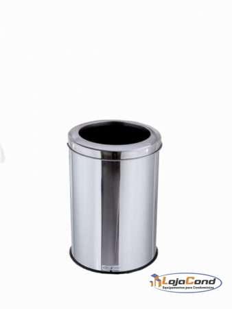 lixeira-coleta-seletiva-inox-aro-inox-30-40-30L